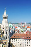 Vienna panorama Royalty Free Stock Images