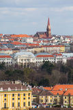 Vienna panorama view from Gloriette Stock Image