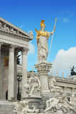 Vienna parliament Royalty Free Stock Images