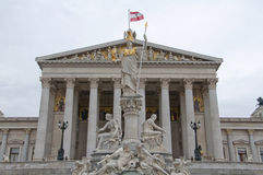 Vienna Parliament Stock Photography