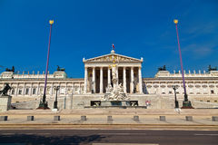 Vienna Parliament Stock Photo