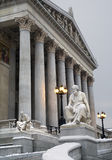 Vienna - philosopher Thucydides statue royalty free stock image