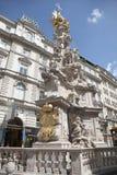 Vienna. Plague column Royalty Free Stock Image