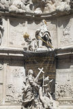 Vienna. Plague column Stock Photo