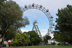 Vienna, Prater, Giant Wheel Royalty Free Stock Photography
