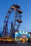 Vienna, Prater, Giant Wheel Stock Images