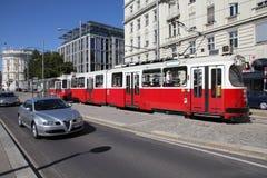 Vienna public transportation Stock Images
