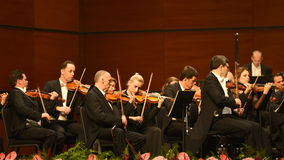Vienna  Radio Symphony Orchestra Stock Images
