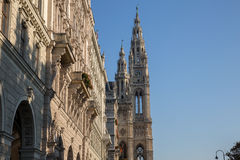 Vienna Rathaus royalty free stock photo