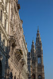 Vienna Rathaus royalty free stock photography