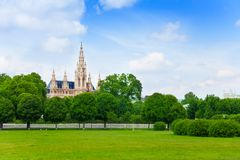 Vienna Rathaus Stock Image