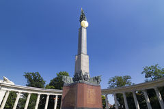 Vienna, Red Army Monument. Monument of Red army in Schwarzenbergplatz, Vienna Royalty Free Stock Photography
