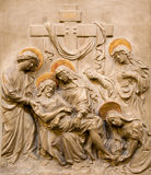 Vienna - relief Deposition from the Cross Royalty Free Stock Photo