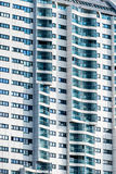 Vienna, residential high-rise Royalty Free Stock Image