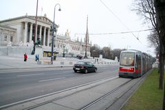 Vienna Ring Road Stock Photography