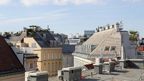 Vienna Roofs Stock Photography