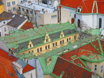 Vienna Roofs Royalty Free Stock Photos