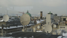 Vienna Rooftops royalty free stock photo