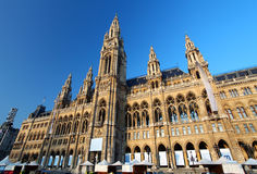 Vienna's City Hall - Town Hall. Vienna royalty free stock photography