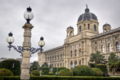 Vienna's Natural History Museum Stock Image