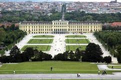 Vienna's Schloss schonbrunn Royalty Free Stock Photography