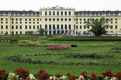 Vienna's Schloss schonbrunn Royalty Free Stock Photography