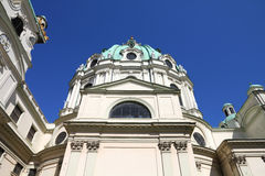 Vienna - Saint Charles Church Stock Image