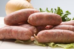 Vienna Sausage Royalty Free Stock Images