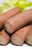 Vienna sausage Royalty Free Stock Photography