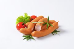 Vienna sausages Royalty Free Stock Photos