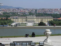 Vienna, Schonbrunn Castle Stock Photo