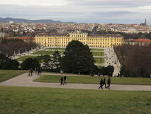 Vienna Schonbrunn castle, Austria Stock Photos