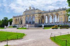 Vienna schonbrunn garden Stock Images