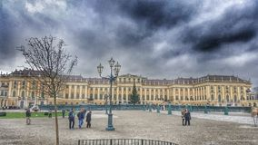 Vienna. Schonburnn   palace in Wien Royalty Free Stock Photography