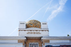 Vienna Secession Building was formed in 1897 by a group of Austr Royalty Free Stock Photo