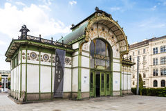 Vienna secession station in Austria. Royalty Free Stock Photos