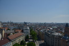 Vienna seen from above Stock Images