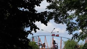 Vienna, shorty coaster. My first videos. I recording them in `Wiener Prater`. Just to testing my new Canon-Camera stock video footage