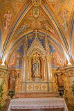 Vienna - Side chapel of holy Mary from vestibule of monastery church in Klosterneuburg from 19. cent. Royalty Free Stock Photo