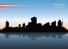 Vienna skyline Stock Image