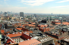 Vienna Skyline Royalty Free Stock Photos