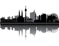 Vienna skyline Stock Photos