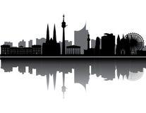 Vienna skyline Stock Photos