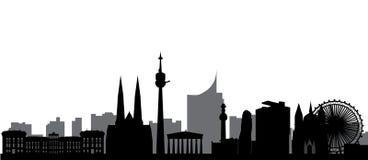 Vienna skyline Royalty Free Stock Photography