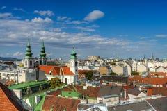 Vienna Skyline Royalty Free Stock Photos
