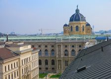 Vienna skyline Stock Photography