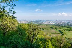 Vienna skyline Royalty Free Stock Image