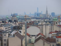 Vienna skyline Royalty Free Stock Images