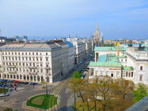 Vienna skyline Royalty Free Stock Photography