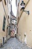 Vienna small street Autria Royalty Free Stock Image
